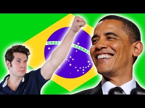 CELEBRITIES EVERYWHERE! (Barack for Brazil)