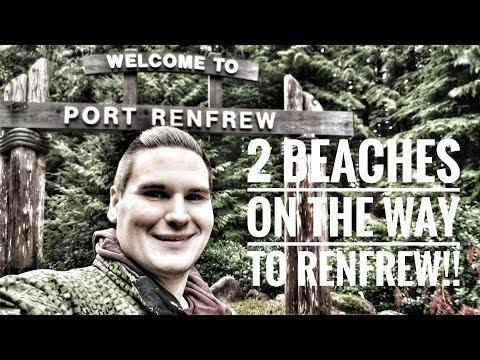Beaches and Drones! A great Thursday (port renfrew B.C)