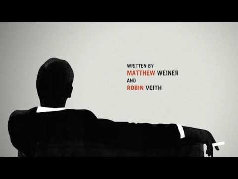mad men intro amc tv series 50 s 60 s style motion graphics youtube