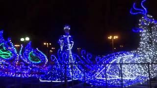 Каток на ВДНХ. Новогодняя Москва 2018 часть-3. New Year Moscow 2018 part-3. Año Nuevo Moscú 2018 -3.