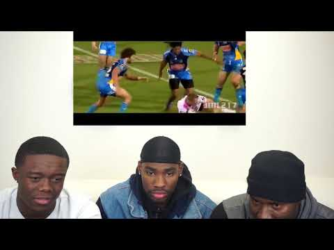 DAD REACTS TO Big Rugby Hits | NRL !