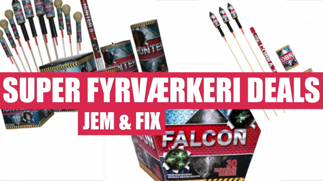 jem og fix batterier