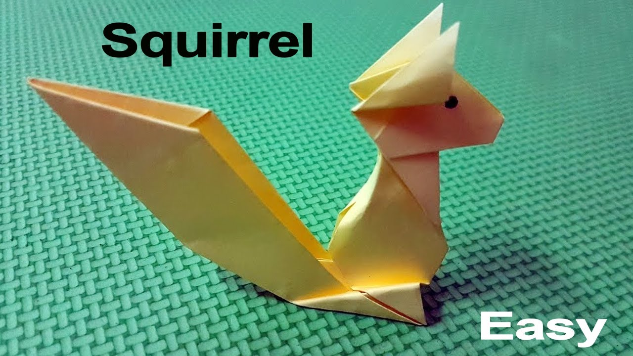 Cool origami squirrel origami easy tutorial youtube cool origami squirrel origami easy tutorial jeuxipadfo Choice Image