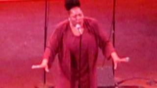 "Tamika Patton sings ""How I Got Over"" as Mahalia Jackson in the  Hit Musical ""Hallelujah Mahalia"""