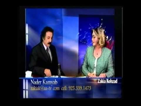 Zakia Kohzad show with Nader Kamyab- Dari/ Farsi Language  تاريخ زبان دري