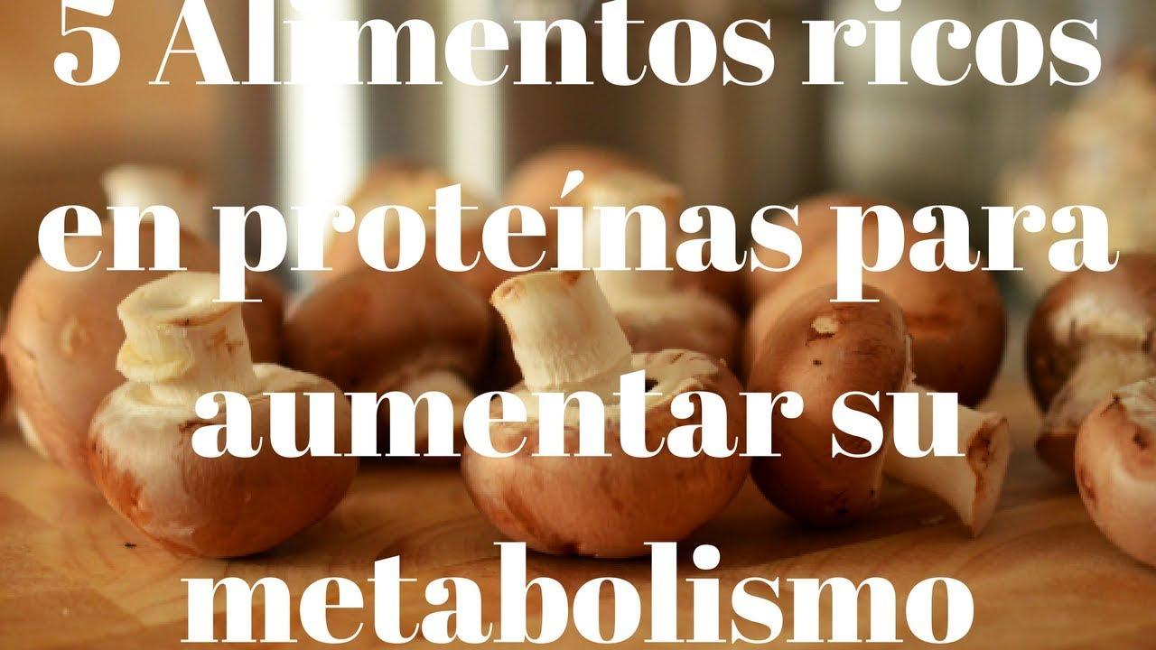 5 Alimentos ricos en proteínas para aumentar su ...