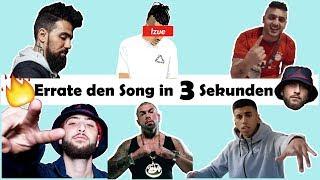 ERRATE DEN SONG IN 3 SEKUNDEN CHALLENGE🔥 [ZU 1019,42% UNMÖGLICH] - DEUTSCHRAP EDITION