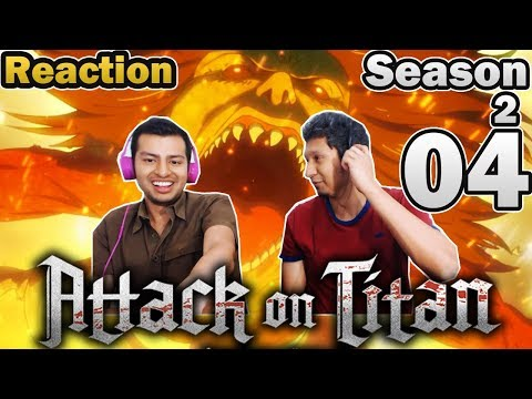 MoC React | Attack On Titan Season 2 Episode 4 | SHE IS A TITAN !!