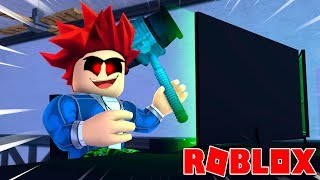 GOLPEA WITH THE COMPUTER'S COMPUTER ? Flee the Facility Roblox