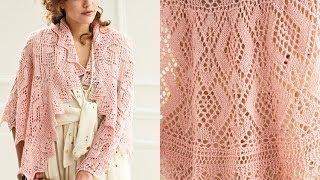 #16 Semi Circle Shawl, Vogue Knitting Spring/Summer 2012