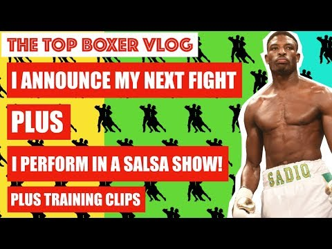 FIGHT ANNOUNCEMENT + MORE! TOP BOXER VLOG #21