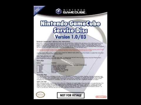 gamecube service disk