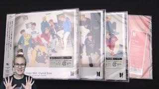 Unboxing BTS (Bangtan Boys) 防彈少年團 8th Japanese Single MIC Drop / DNA / Crystal Snow [All 4 Editions]