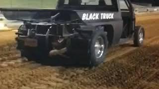 Black truck slow motion thumbnail