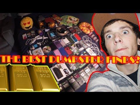 Dumpster Diving HUGE Haul! Dumpster Adventures strike GOLD!