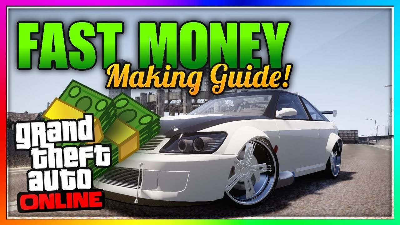 How to make fast money in gta 5 online ps4