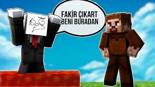 FAKİR TROL ADAMI KENDİ TUZAĞINA DÜŞÜRDÜ! 😱 - Minecraft