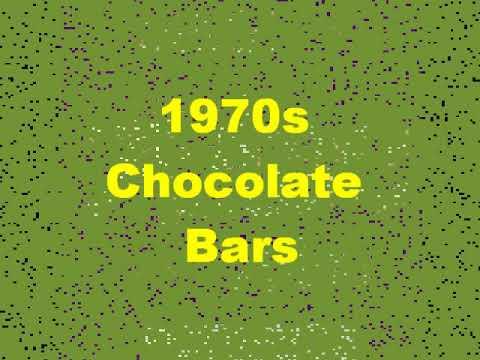 1970s Chocolate Bars