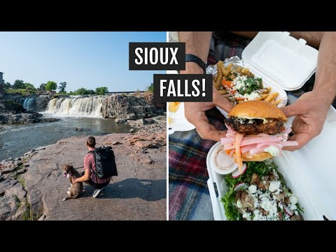 Day Trip To Sioux Falls, South Dakota | Coffee, Food, Falls Park, & Arc Of Dreams
