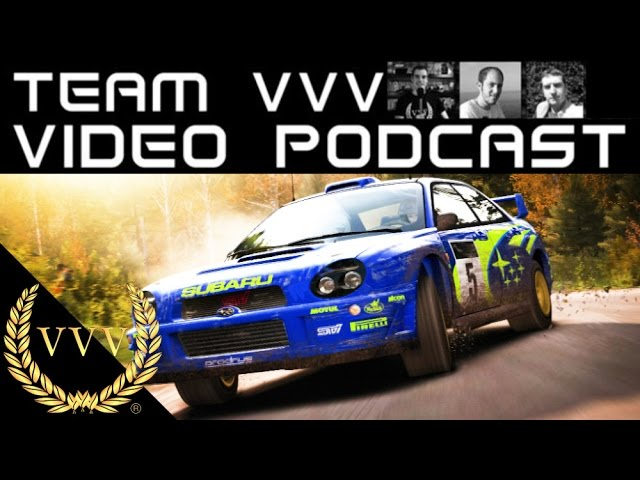 Team VVV Podcast 28, DiRT Rally PSVR, Nintendo Switch, Micro Machines