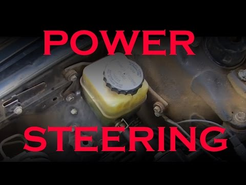 Power Steering Fluid Flush