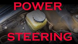 Power Steering Fluid Change  - Toyota / Lexus