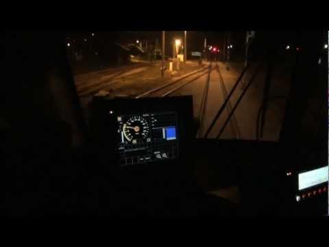 Nocne testy ETCS na CMK (+sound)
