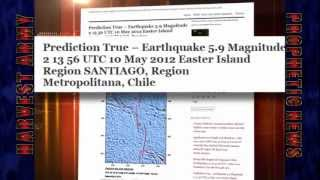 EASTER ISLAND (South Pacific Ocean) 5.9 EARTHQUAKE May 11, 2012. Prediction