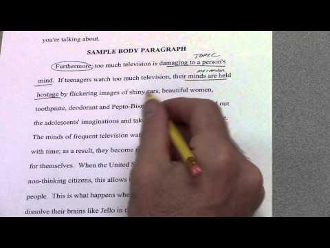 6-Paragraph Timed Argumentative Essay -- Part 5 -- 3rd Body Paragraph