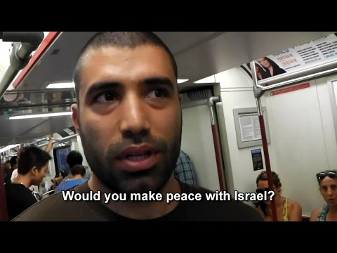 Arab/Muslim Canadians: Would you make peace with Israel?