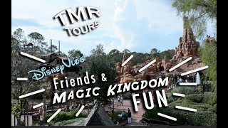 Magic friends VLOG - MAGIC at Magic Kingdom