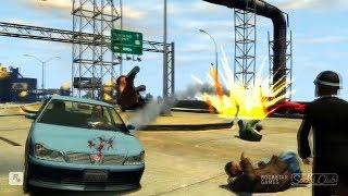 GTA 4 - Трюки, Аварии и Приколы! [#42]