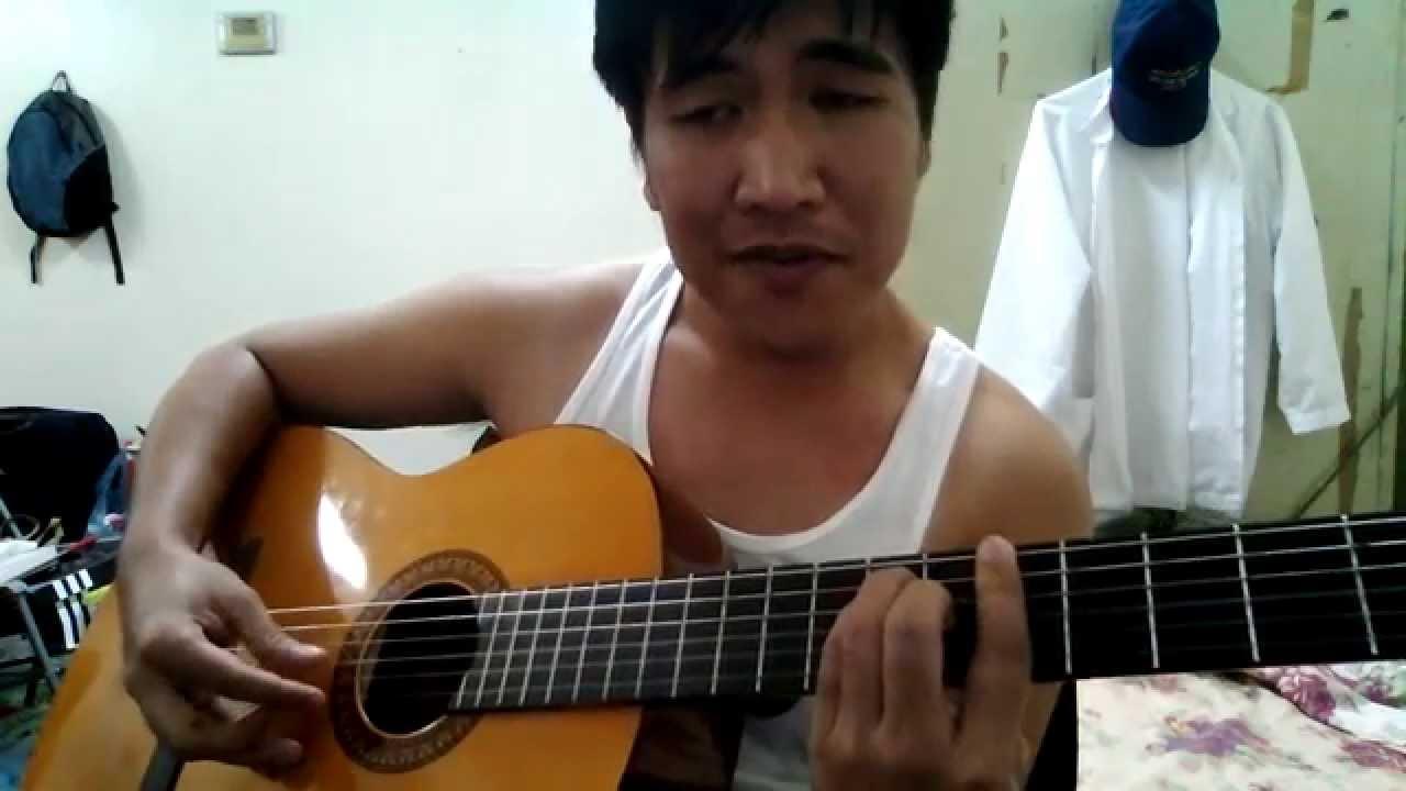 Kasama kang TumandaGrow Old With You Guitar Cover YouTube