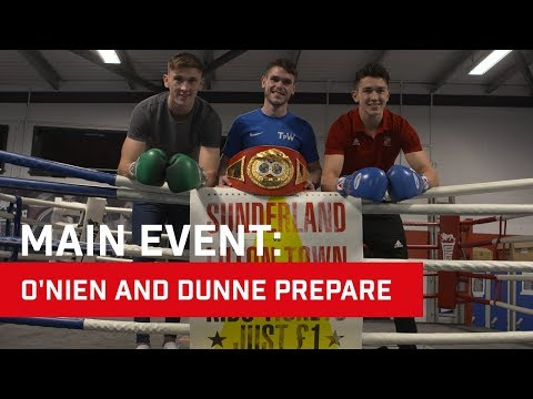 MAIN EVENT: O'Nien and Dunne prepare for Luton