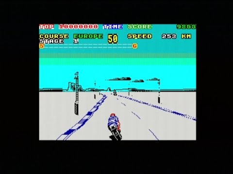 SUPER HANG-ON (ZX SPECTRUM - FULL GAME - ALL 4 COURSES)