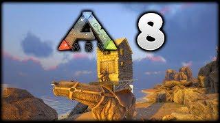 The BEST Mini MOBILE ARK Base Ever! | ARK Survival Evolved: The Island | Episode 8