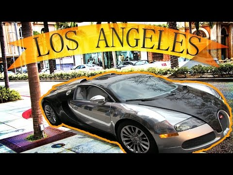 Supercars of Los Angeles  Beverly  Hills 2016