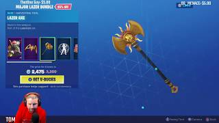 FORTNITE NEW SKIN AND BUNDLE MAJOR LAZER BUNDLE, MAJOR LAZER, LAZER BLAST