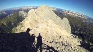 Marmolada - ferrata cresta Ovest