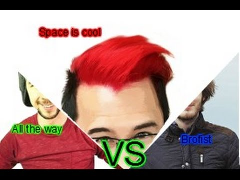 Space is cool Vs. All the way Vs. Brofist