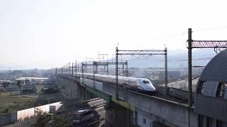 蔵王隧道に入るE2系 東北新幹線