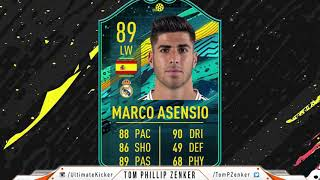 FIFA 20 SBC Player Moments Marco Asensio CHEAPEST SOLUTION 92000  FUT SQUAD BUILDING CHALLENGE