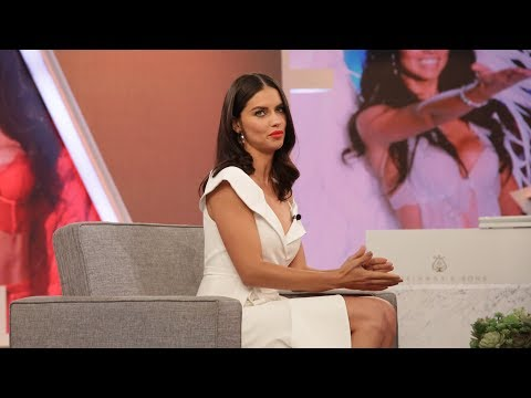 WEB EXTRA: Adriana Lima's Kids Recognized Her Modeling Ad
