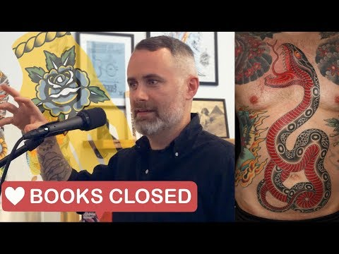 BOOKS CLOSED podcast  Ep 003  Chris O'Donnell