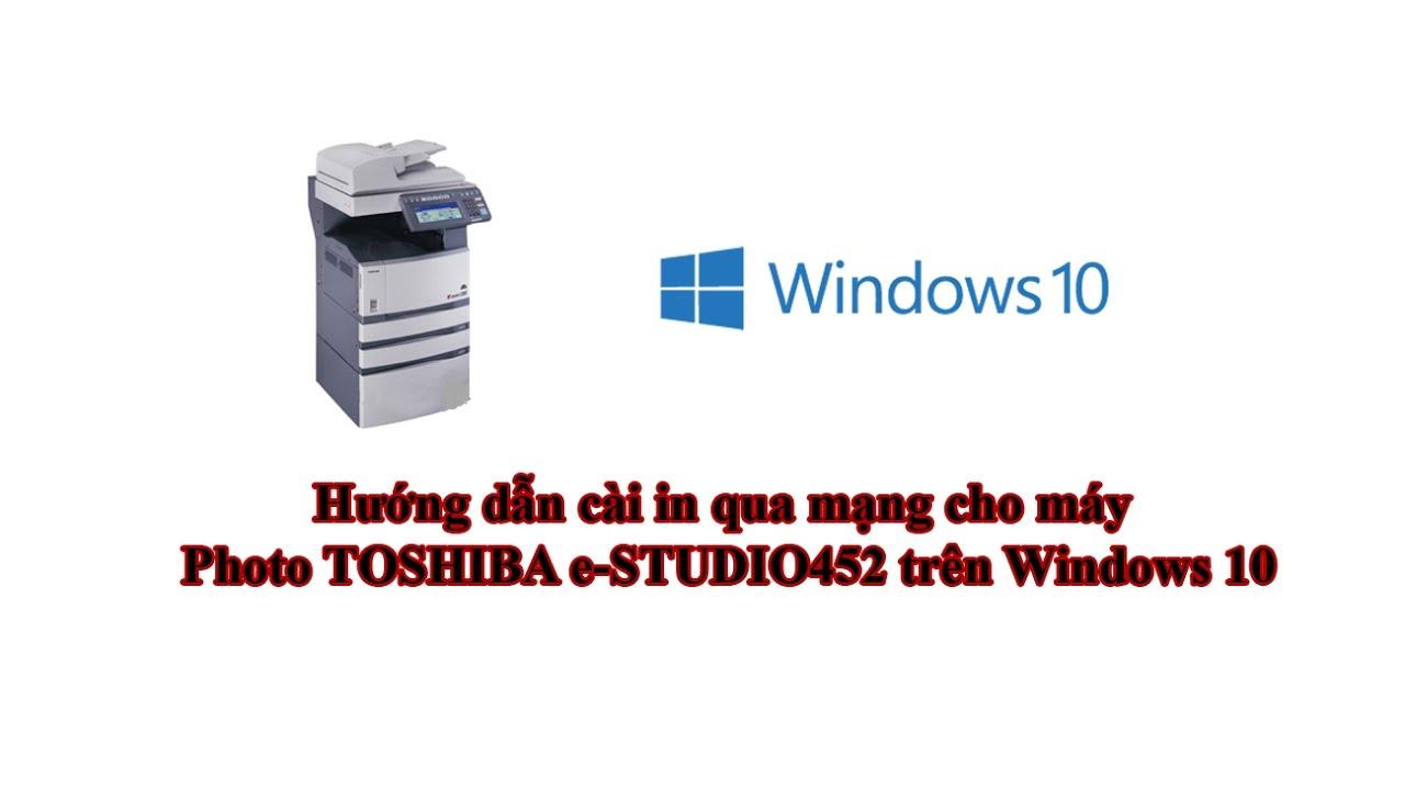 TOSHIBA E STUDIO4520CSERIESPCL6 DRIVERS FOR WINDOWS XP