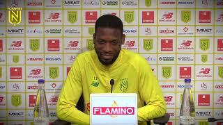 Molla Wague avant FC Metz - FC Nantes