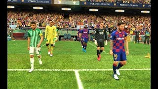 PES 2019 | FC Barcelona vs Real Betis | Gameplay PC
