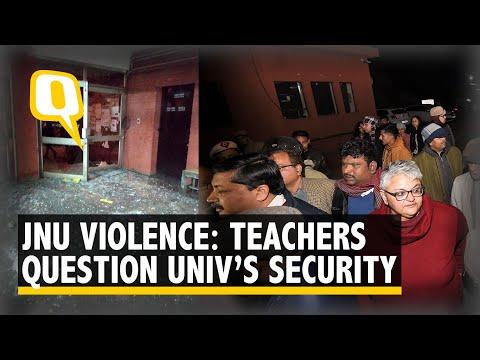 JNU Violence: Teachers Raise Question on