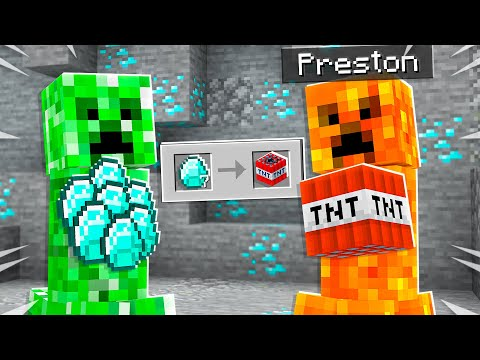 7 Ways to Steal Diamonds from Creepers in Minecraft!