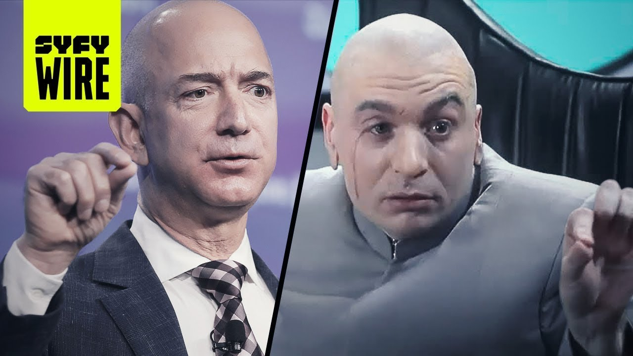 He Was 33...Dr. Evil Bezos' Devil Mountain 10K Year Clock!...IMAM International Man A Mystery